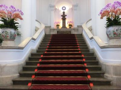 台湾総統府内部と台北賓館見学 < 2019 台湾の旅 3日目その1 >