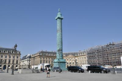 (2) パリは燃えていた! 灼熱の太陽に照らされた華の都パリをメトロを駆使して回る