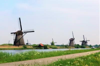 【2019海外】バルト3国 & ベネルクス3国 周遊8日間 #17 ~ロッテルダム 風車のある風景を観に~