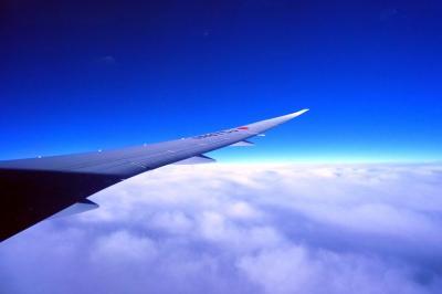 47.長男と行くハワイ3泊 ダニエル・K・イノウエ国際空港~成田国際空港までのJALの翼の空の旅その1