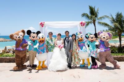 アウラニディズニー結婚式とホノルル②-2