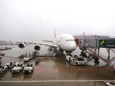 あおばのソウル旅日記① アシアナ航空A380搭乗!