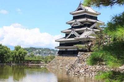 気晴らしは長野県松本市で。
