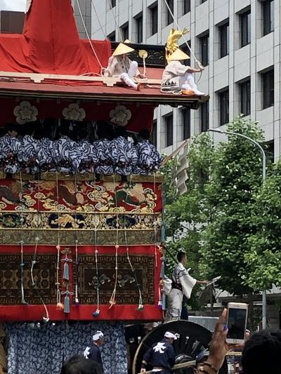 2019年祇園祭  鉾の観察日記