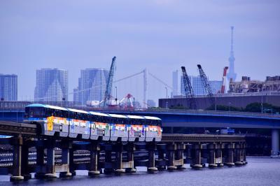 京浜運河を走る「ポケモンモノレール」を追いかけて東京モノレールに訪れてみた
