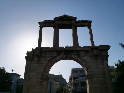 初めてのギリシャ2度目のイタリア アテネ・ローマ遺跡を歩む一人旅 2日目 アテネ到着編