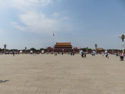 2019芒種「北京へ一人旅」(2_天安門広場まで歩く)