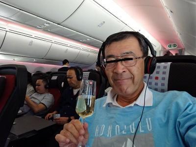 シャンパンな旅,W&CクラスでKLIA・3,6回目のクアラルンプール,JGP修行・第1章