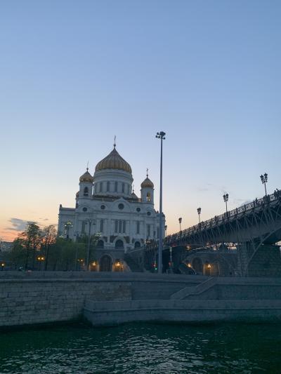 GW*ロシアとイスラエルの旅*9日間⑨地下鉄駅巡りとモスクワ川クルーズ