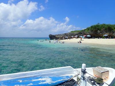 夏!沖縄 コマカ島でシュノーケリングをしました。