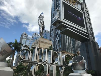 キャセイビジネスクラス利用マカオの旅③2日目(StudioCity)