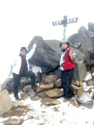 2018年秋の信州 八ヶ岳・根石岳2603mに登る