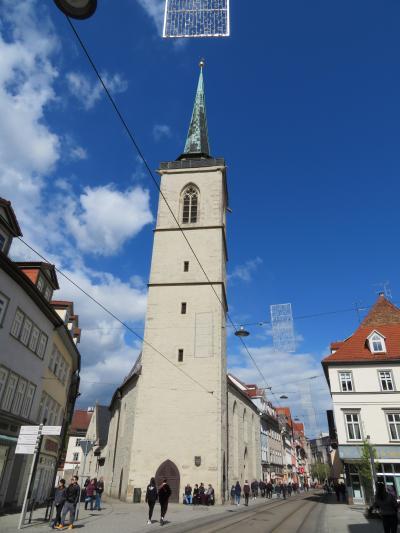 心の安らぎ旅行(2019年 5月 Erfurt エアフルト Part8 Allerheiligenkirche 教会♪)