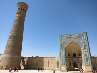 ウズベキスタン8日間の旅(3)ブハラ歴史地区観光