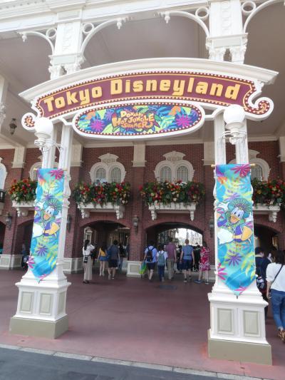 2019年7月 東京ディズニーリゾート 1日目