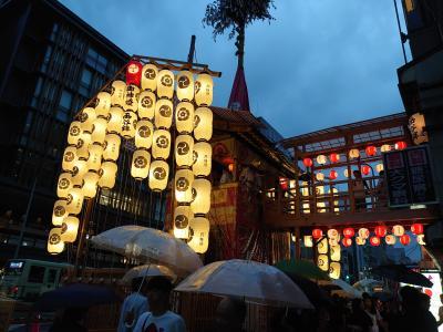 京都 ちょこっと祇園祭とパワスポ巡り1DAYトリップ