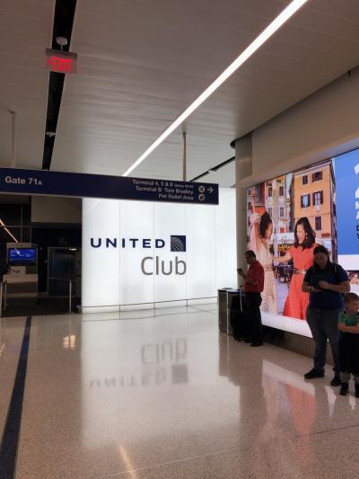日本-ラスベガス間 ロサンゼルス国際空港 乗り継ぎ ユナイテッド国内線からANA国際線