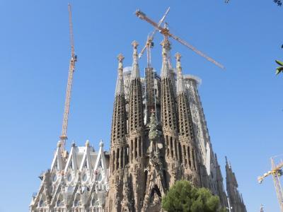 20数年ぶりのスペイン周遊 バルセロナ