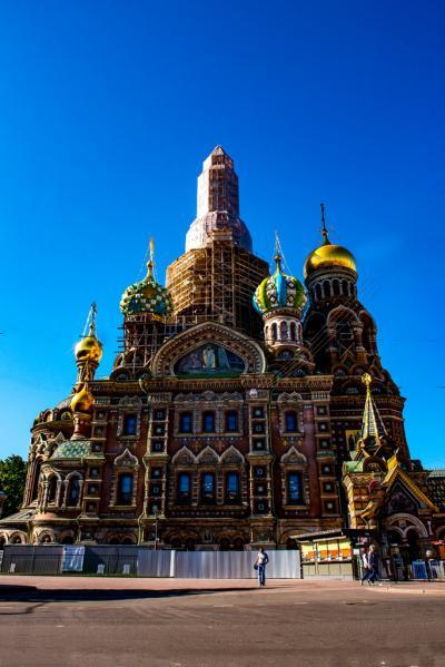 ロシア(14) サンクトペテルブルグ市内1