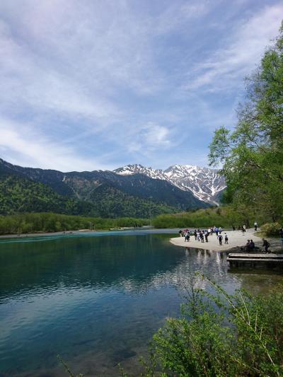 上高地、立山、黒部ダムへのバスツアー一泊旅
