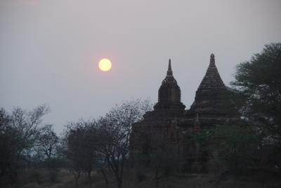 2019 ビルマの旅(2) 1日で巡るバガンの寺院