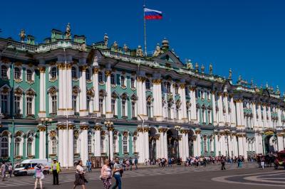 ロシア(16) エルミタージュ美術館1