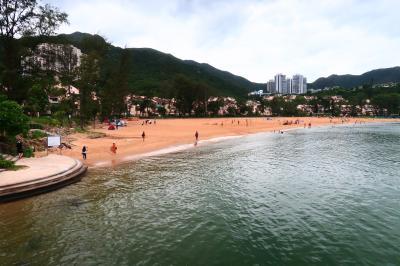 香港★欧米人多めのビーチでのんびり ~愉景灣Discovery Bay~