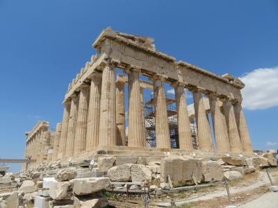 アテネ&ミコノス島&サントリーニ島 2日目 アクロポリスの丘