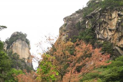 梅雨なのに絶景を探し求めて - 山梨&新潟【1】特別名勝の景勝地『昇仙峡』