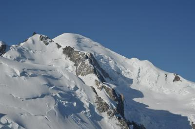 スイス花とハイキングの旅 シャモニー エギュィ・ディ・ミディ