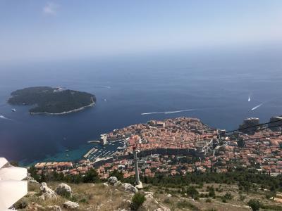 初クロアチアその3 ドブロブニク観光、ザグレブへ