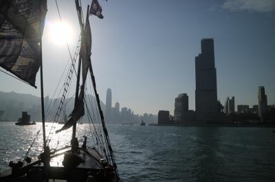12月の香港です。