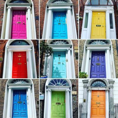 2019.04-05・GWアイルランド&デンマーク7日間の旅【3】~ダブリンの街で可愛らしいジョージアン・ドア探し~
