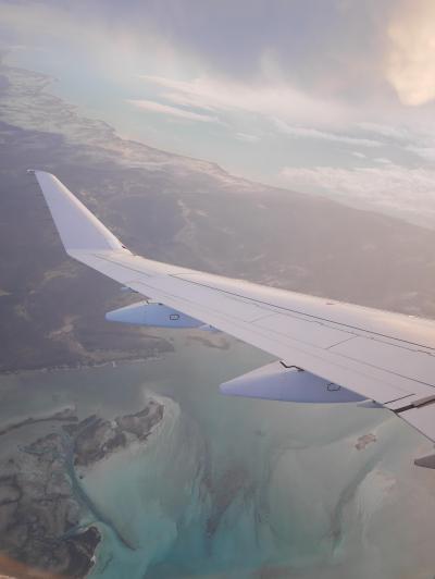 【カリブ海】8/8作目 ドミニカ共和国・ジャマイカ・バハマ3か国 ゜*・バハマ国からアメリカ・マイアミへの移動と乗り継ぎ編・*゜