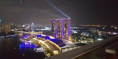 シンガポール★トランジットでマリーナエリア街歩き