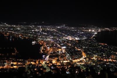 2019GW 北海道函館市の旅(4、5、6日目/函館山からの百万ドルの夜景、函館市内散策)