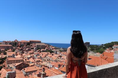 アドリア海の青とオレンジの屋根☆絶景の街ドブロブニクに行ってみよう♪クロアチア母娘旅