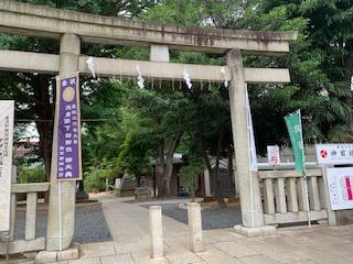 鳩森神社 開運山開き
