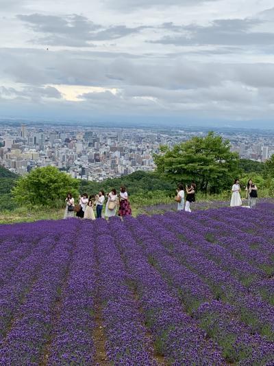 2019年7月 三連休の2日目は曇り空 地元札幌で夏を楽しむ!