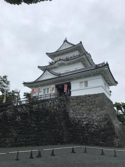 日本百名城スタンプをもらいに