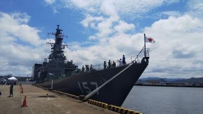 2019海の日 護衛艦「さわぎり」の一般公開 at 和歌山港!子連れで楽しめるイベント盛り沢山♪