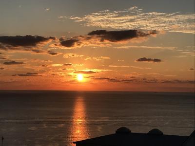 長崎へ まずは夕陽を。JAL どこかにマイルの旅-1