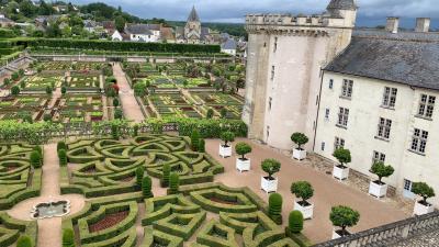レンタカーでまわる初夏のロワール地方11日間の旅-その4(フォントブロー修道院、ヴィランドリー、ランジェ)