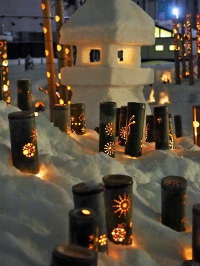 *米沢の上杉雪灯篭まつり*