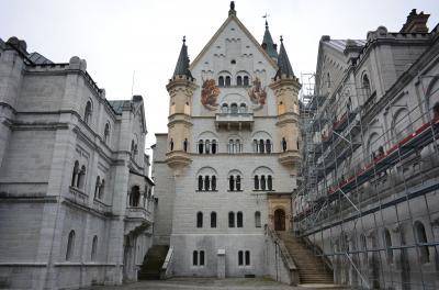 ドイツ3大美城を訪ねて ノイシュバンシュタイン城