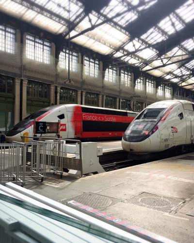 2019 5月 一人でパリからチューリッヒ列車の旅♪ 不安と期待が半分づつで無事に帰って来ました。