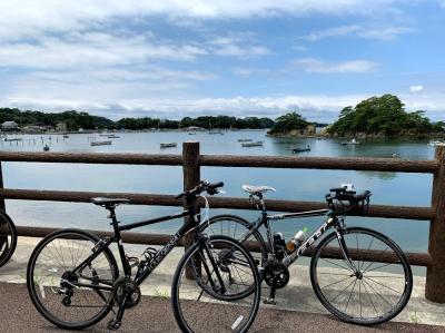宮城・松島旅行2日目:奥松島のサイクリングツアーに参加した