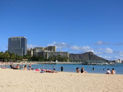 """ハワイの休日・""""アッ""""と言う間に過ぎ去った15日間 シェラトン・ワイキキ周辺~デューク・カハナモク・ビーチ周辺をぶーらぶら。(2019)"""