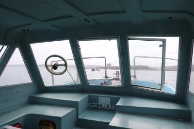 奥武島で観光グラスボート
