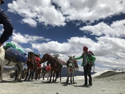 トレッキングデビューはインドの秘境「ラダック」⑤標高4950mガンダラ峠に挑む 息が苦しい、足が上がらない、ガンバレ私!